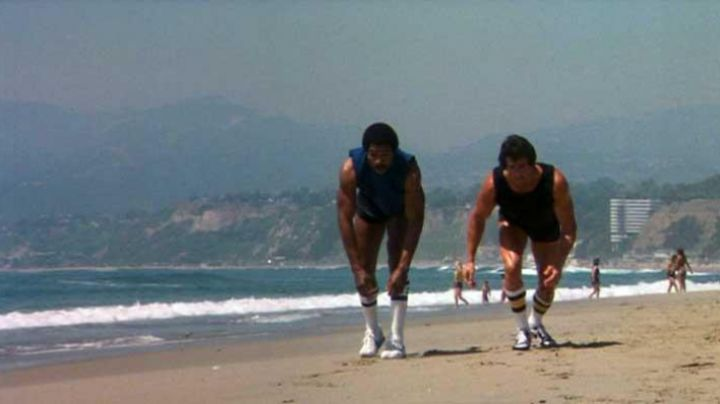 Fashion Trends 2021: Sneakers Nike Cortez worn by Apollo Creed (Carl Weathers) in Rocky II