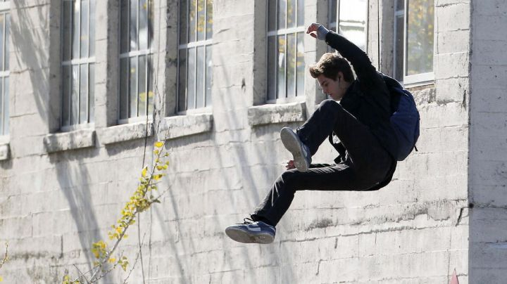 Fashion Trends 2021: Sneakers Nike Dunk Low Peter Parker (Andrew Garfield) in The Amazing Spider-Man