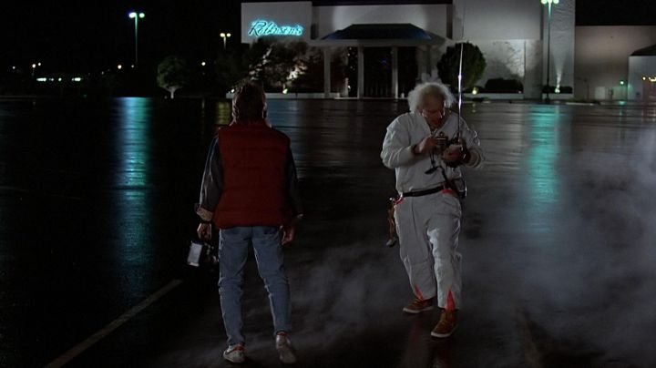 Sneakers Nike Vandal High Supreme Doc Brown (Christopher Lloyd) in Back to the future