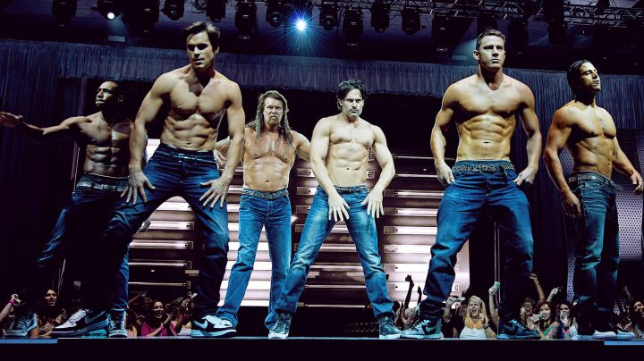 Fashion Trends 2021: Sneakers Nike black basses in Magic Mike XXL