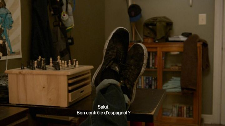 Sneakers Nike of Peter Parker (Tom Holland) in Spider-Man: Homecoming movie