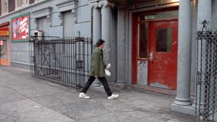 Sneakers Puma high tops of Ramon (Jon Chardiet) in Beat Street - Movie Outfits and Products