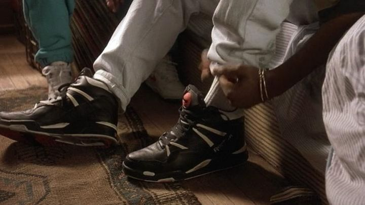 Sneakers Reebok Pump of Bishop (Tupac Shakur) in Juice - Movie Outfits and Products