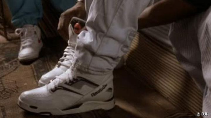 Sneakers Reebok white in Juice - Movie Outfits and Products