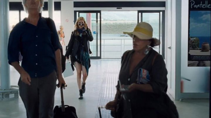 Sneakers high tops black in A Bigger Splash - Movie Outfits and Products