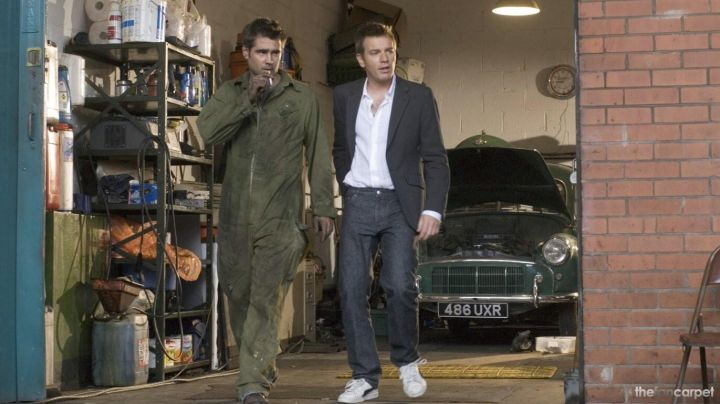 Sneakers low white and black Ewan McGregor in The dream of Cassandra - Movie Outfits and Products