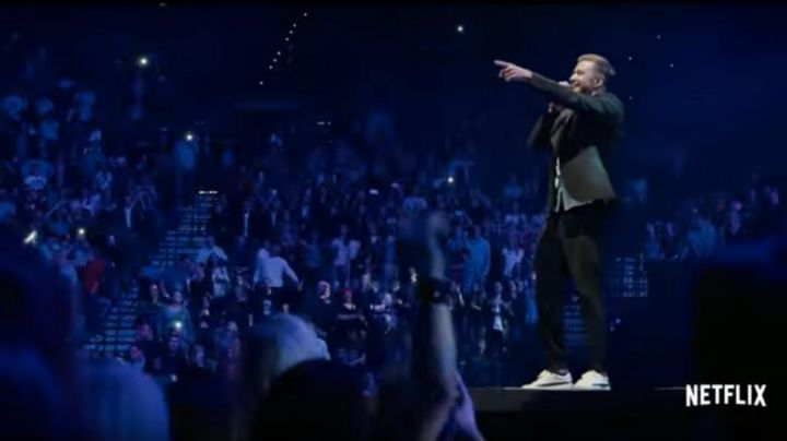 Sneakers white Justin Timberlake in Justin Timberlake And The Tennessee Kids - Movie Outfits and Products