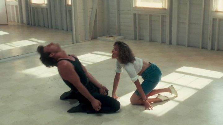 Sneakers white Keds Baby / Frédérique Houseman (Jennifer Grey) in Dirty Dancing - Movie Outfits and Products