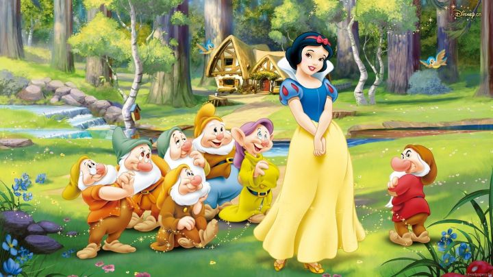 Snow White's wig in Snow White and the Seven Dwarfs - Movie Outfits and Products
