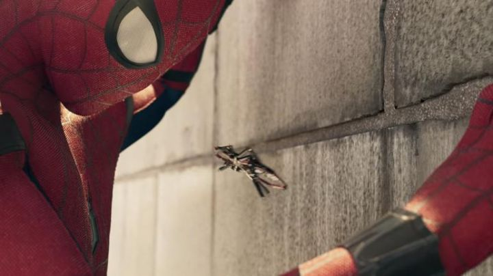 Fashion Trends 2021: Spider-drone a seen in Spider-Man: Homecoming