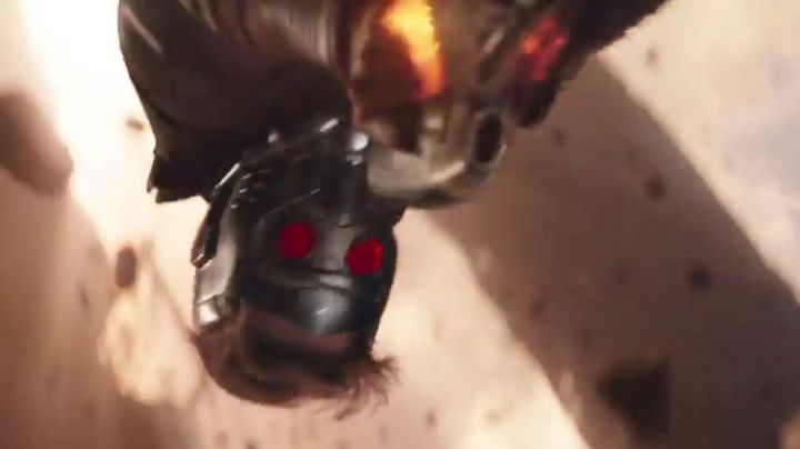 Star Lord's (Chris Patt) helmet resin kit as seen in Avengers: Infinity War - Movie Outfits and Products