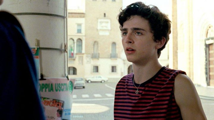 Star of David Necklace of Elio (Timothée Chalamet) in Call Me by Your Name movie