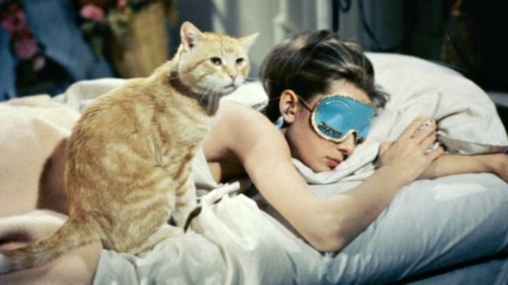 Stoppers ear of Holly Golightly (Audrey Hepburn) in Breakfast at Tiffany's movie