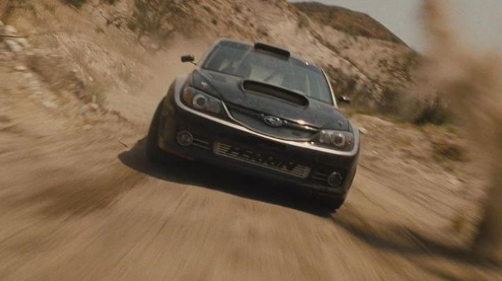 Subaru Impreza Brian O'conner (Paul Walker) in Fast & the Furious 4 - Movie Outfits and Products