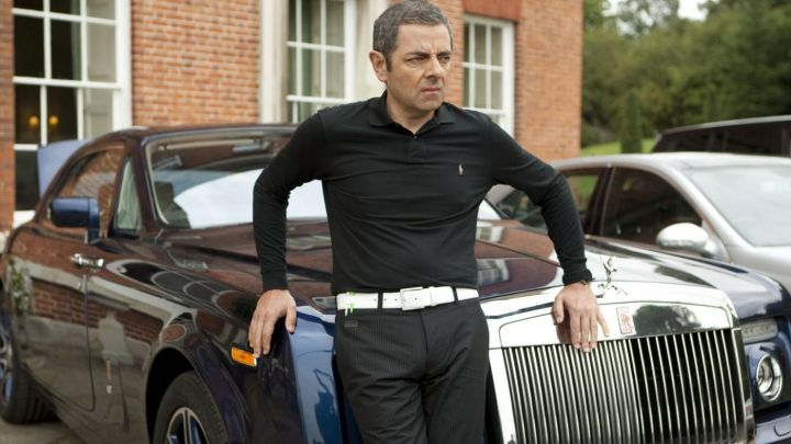 Suit Trouser Pants worn by Johnny English (Rowan Atkinson) in Johnny English Reborn Movie