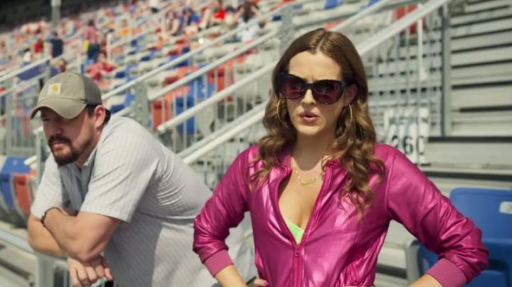 Sun-glasses Mellie Logan (Riley Keough) in Logan Lucky - Movie Outfits and Products