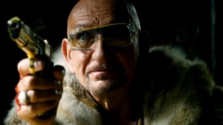 Sunglasses Cazal of Geran (Ben Kingsley) in Collide - Movie Outfits and Products