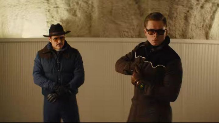Sunglasses Cutler And Gross of Eggsy (Taron Egerton) in Kingsman : The Golden Circle - Movie Outfits and Products