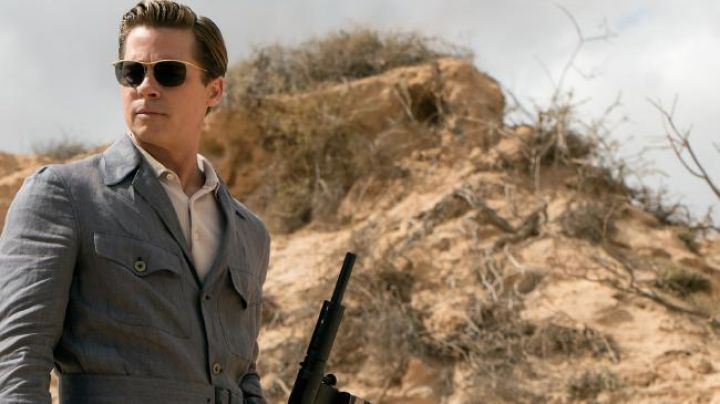Sunglasses Max Vatan (Brad Pitt) in Allies - Movie Outfits and Products