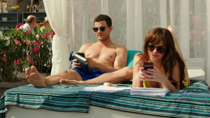 Sunglasses Persol Christian Grey (Jamie Dornan) in Fifty shades lighter Movie