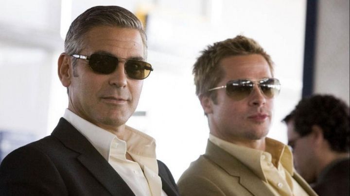 Sunglasses Persol of Danny Ocean (George Clooney) in Ocean's Thirteen - Movie Outfits and Products