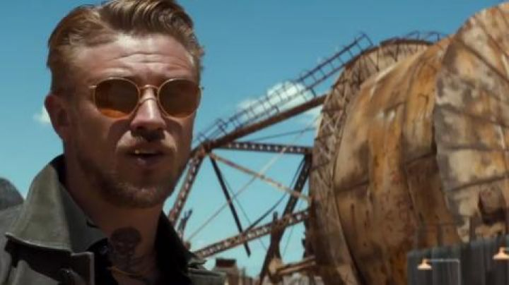 Sunglasses Ray-Ban 0RB3447 of Donald Pierce (Boyd Holbrook) in Logan - Movie Outfits and Products