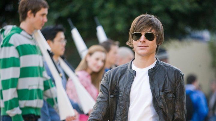 Sunglasses Ray-Ban aviator Mike O' Donnell (Zac Efron) in 17 years - Movie Outfits and Products