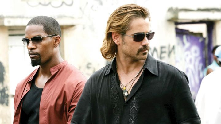 Sunglasses Sama of Sonny Crockett (Colin Farrell) in Miami Vice - Movie Outfits and Products