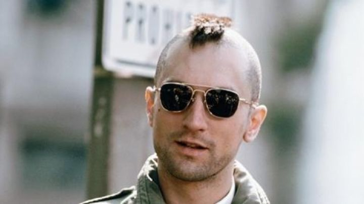 Sunglasses aviator of Travis Bickle (Robert De Niro) in Taxi Driver - Movie Outfits and Products
