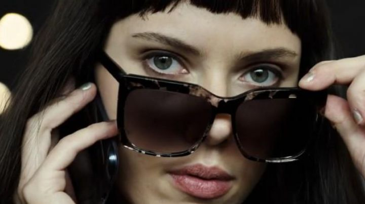 Sunglasses by Peter and May Walk Lucy (Scarlett Johansson) in Lucy movie