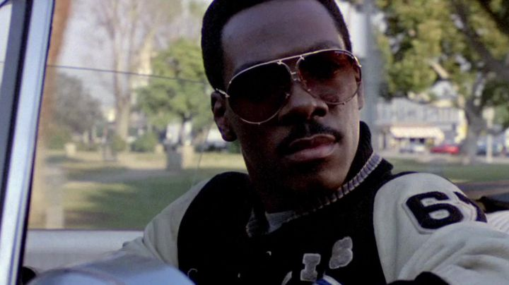 Sunglasses worn by Axel Foley (Eddie Murphy) in Beverly Hills Cop II - Movie Outfits and Products