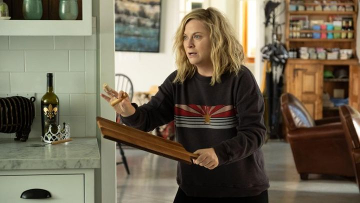 Sweater worn by Abby (Amy Poehler) in Wine Country movie