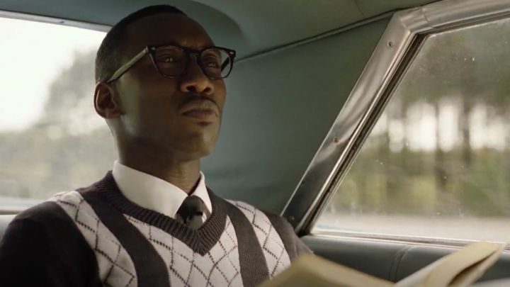 Sweater worn by Dr. Don Shirley (Mahershala Ali) as seen in Green Book movie