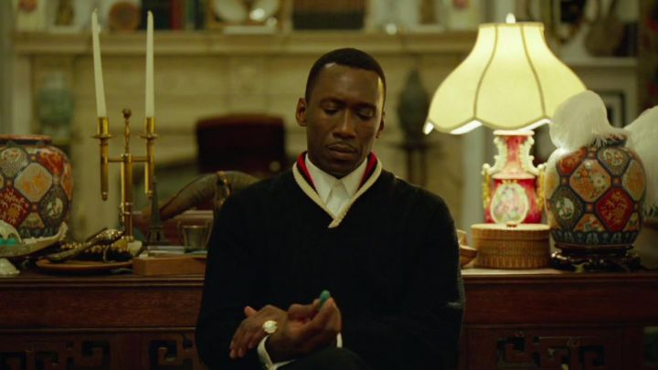 Sweater worn by Dr. Donald Shirley (Mahershala Ali) as seen in Green Book movie