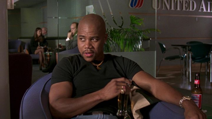 TAG Hauer Chronograph Watch worn by Rod Tidwell (Cuba Gooding Jr.) in Jerry Maguire Movie