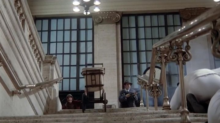 """That pram rolling down stairs in """"The Untouchables"""" - Movie Outfits and Products"""
