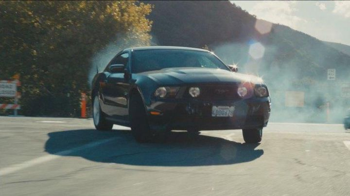 The 2011 Ford Mustang of Ryan Gosling in Drive - Movie Outfits and Products