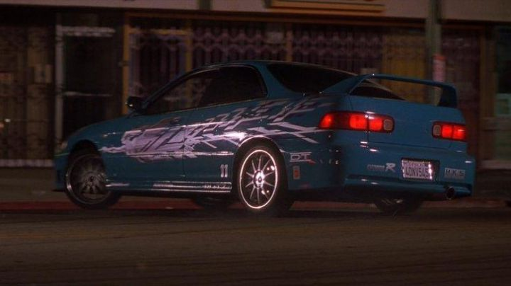 Fashion Trends 2021: The Acura Integra of Mia Toretto (Jordana Brewster) in Fast and furious