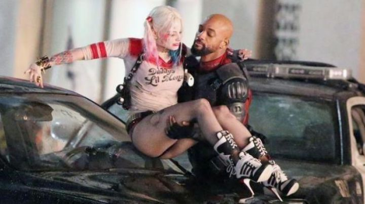 The Adidas Harley Quinn (Margot Robbie) in Suicide Squad movie