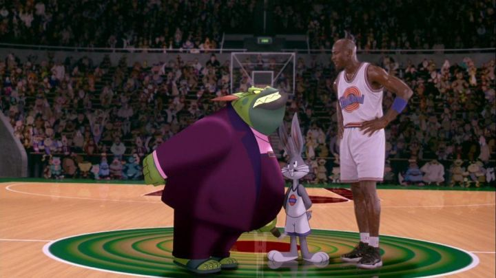 The Air Jordan 11 worn by MJ in Space Jam - Movie Outfits and Products