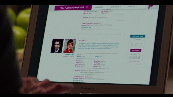 The Apple MacBook Air seen in hidden Beauty - Movie Outfits and Products