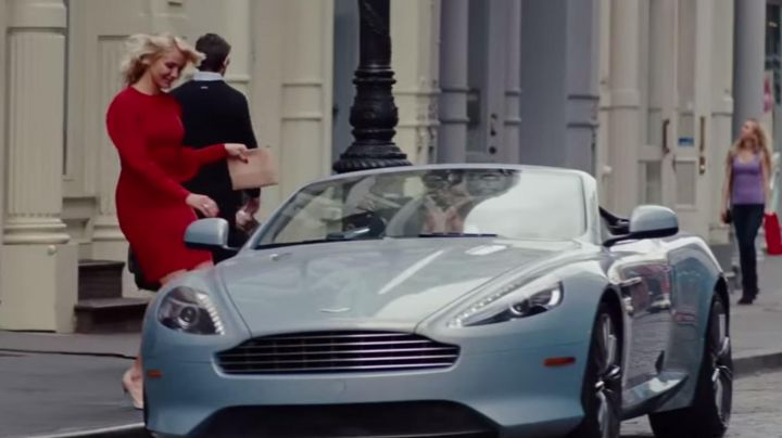 The Aston Martin DB9 Volante of Nikolaj Coster-Waldau in The Other Woman - Movie Outfits and Products