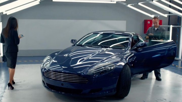 The Aston Martin DB9 in Spy - Movie Outfits and Products