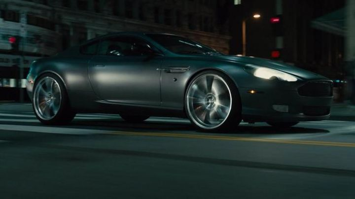 The Aston Martin of Deckard Shaw (Jason Statham) in Fast & Furious 7 movie