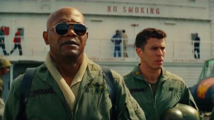 The Aviator, Lieutenant Colonel Packard (Samuel Lee Jackson) in Kong : Skull Island - Movie Outfits and Products