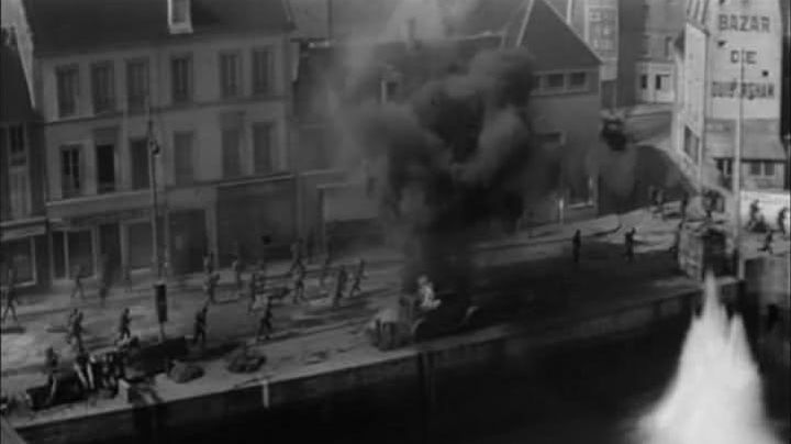 """The Bazaar Ouistreham reconstituted in Port-en-Bessin for the filming of the movie """"The longest day"""" - Movie Outfits and Products"""