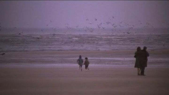 The Beach of Deauville in the film a man and A woman - Movie Outfits and Products