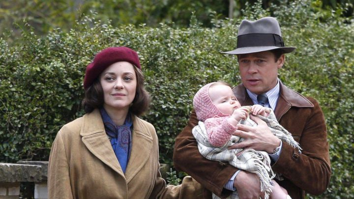 The Beret of Marianne Beausejour (Marion Cotillard) in Allies - Movie Outfits and Products