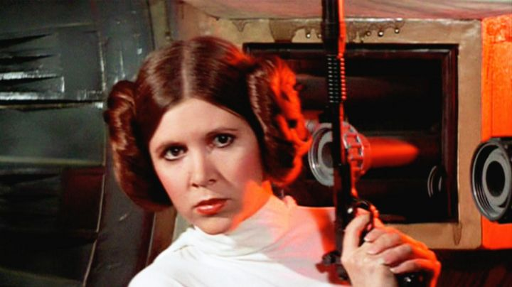 The Blaster of the princess Leïa (Carrie Fisher) in star wars - Movie Outfits and Products