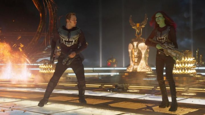 The Blaster pistols from Star Lord (Chris Pratt) in guardians of the galaxy 2 - Movie Outfits and Products